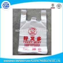 Transparent Plastic Vest Or T-Shirt Shopping Bags