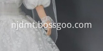 Bride Porcelain Doll with Flower