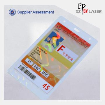 Chine 10 Mil Id Hologramme Thermique Plastification Pochettes Pour