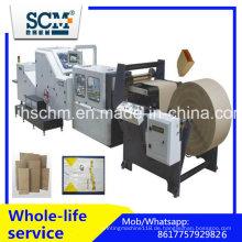 Kraft / Handwerk Square Bottom Papiertüte Making Machine