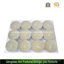 12g White Tealight velas para la decoración del hogar