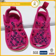 Сандалии 2015 Детская обувь Младенческая новорожденная First Walkers высококачественная детская сандалия