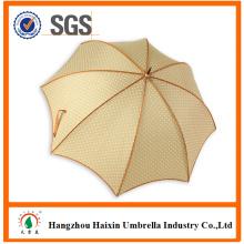 Хороший Bordure желтый цвет дизайн собственный зонтик с цветок печати