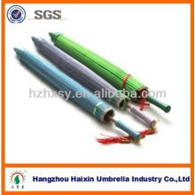 Chinesische traditionelle Bambus Sonnenschirm