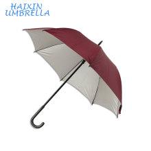 Annonces 58.5cm 8 k Manuel Personnalisé En Fiber De Carbone Vente Chaude Promotionnel Impression Marque Nom Pas Cher Pluie Publicité Parapluie Droite