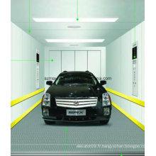Ascenseur sans voiture de machine pour le garage de stationnement