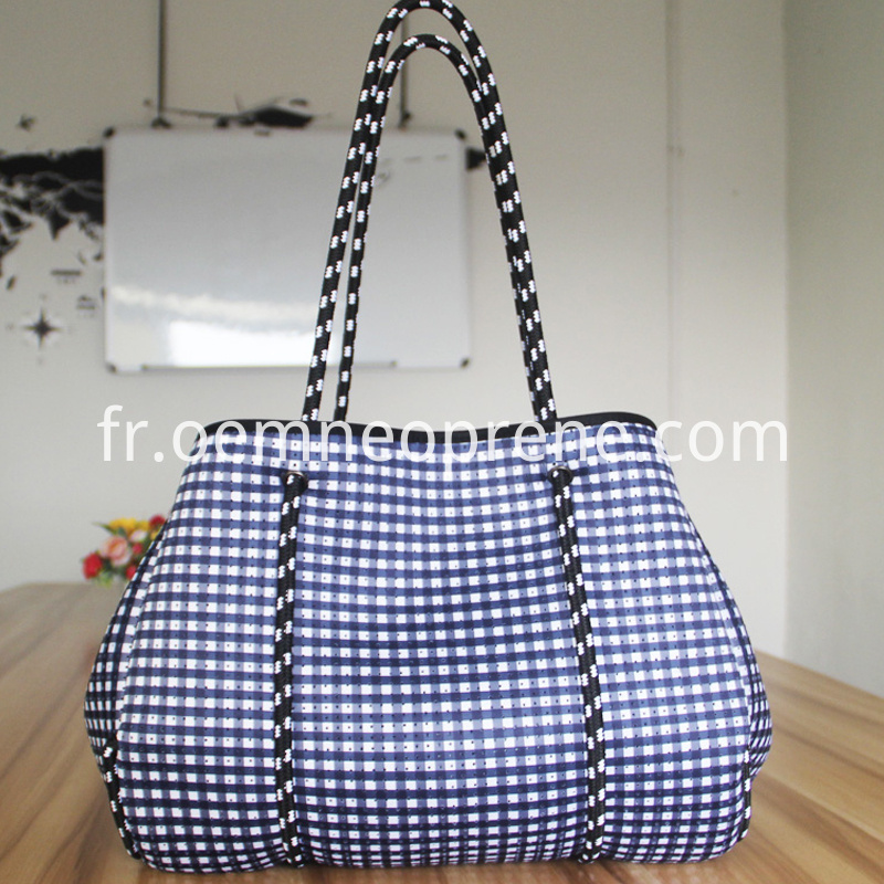 neoprene beach bag
