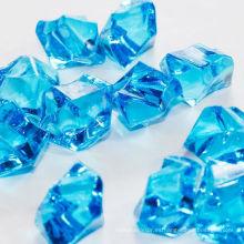 Centro de mesa de piedra de piedra de hielo acrílico