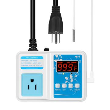 Prise de contrôle de température numérique WiFi Télécommande Bluetooth