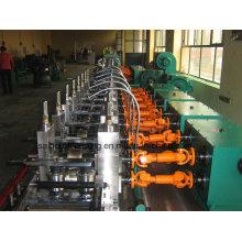 Línea de máquina de fabricación de tuberías de soldadura de alta frecuencia (ZY-50)