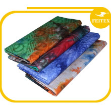 China factory Feitex different colors African printing fabric guinea brocade bazin women wear for wedding party