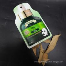 Emballage de sac de masque de poche plate
