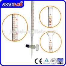 JOAN Labor-Glassäure-Bürette mit Glas-Absperrhahn