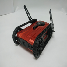 Red wifi AR racing battle tank for kids