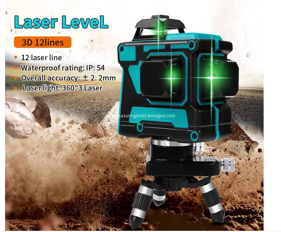 3D12Lines laser levels