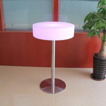 Светящаяся пластиковая мебель светящийся круглый стол