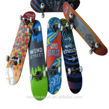 customized 9 ply maple complete skateboards with low price for sale