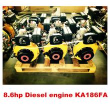 Motor a diesel refrigerado a ar KA170 / 178/186 / 188F