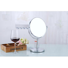 Desk Standing Metal Stand Table Cosmetic Mirror