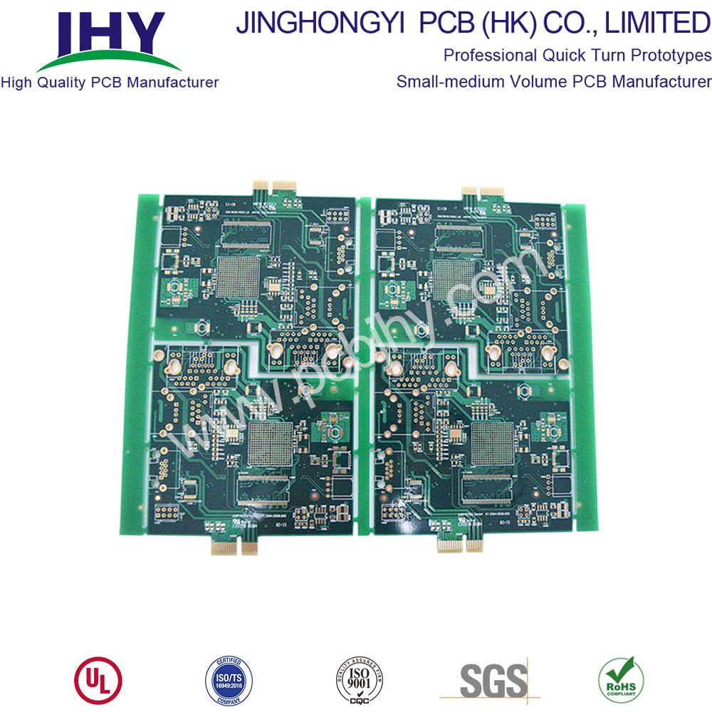 "Gold Finger 20u"" ENIG 2u"" 4 Layer PCB"