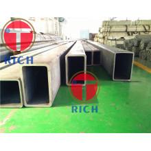 Tubería rectangular del metal del tubo del tubo de acero de GB / T3094-2000
