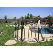 Durable Black Steel Pool Fence/Swimming Pool Fence/Terporary Pool Fence