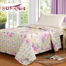 Factory DirectlyLuxury Comfortable printed quilt cheap polyester quilt full