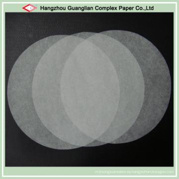 Círculos de papel de pergamino precortados antiadherentes de Bakery Supply