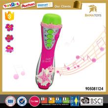 2016 happy karaoke microphone toy for girl
