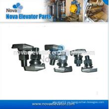 Piezas de repuesto para elevadores, Clips forjados, Clavijas para carril tipo T, T1, T2, T3, T4 y T5