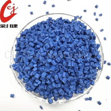 Best Price for for Offer Non-Halogen Masterbatch Granules,Plastic Masterbatch Granules,Plastic Color Masterbatch From China Manufacturer Blue Non-halogen Cable Masterbatch Granules export to Poland Supplier
