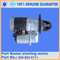 PC300-7 PC300-8 motor de arranque pc300-8M0 600-863-5711