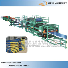 Sandwich Roofing Panel Cold Roll Forming Machine