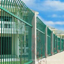 Valla de malla de alambre galvanizada protectora de Villa / verde de alta calidad