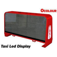 5 mm Full Color Advertising Waterproof Taxi Led Display For