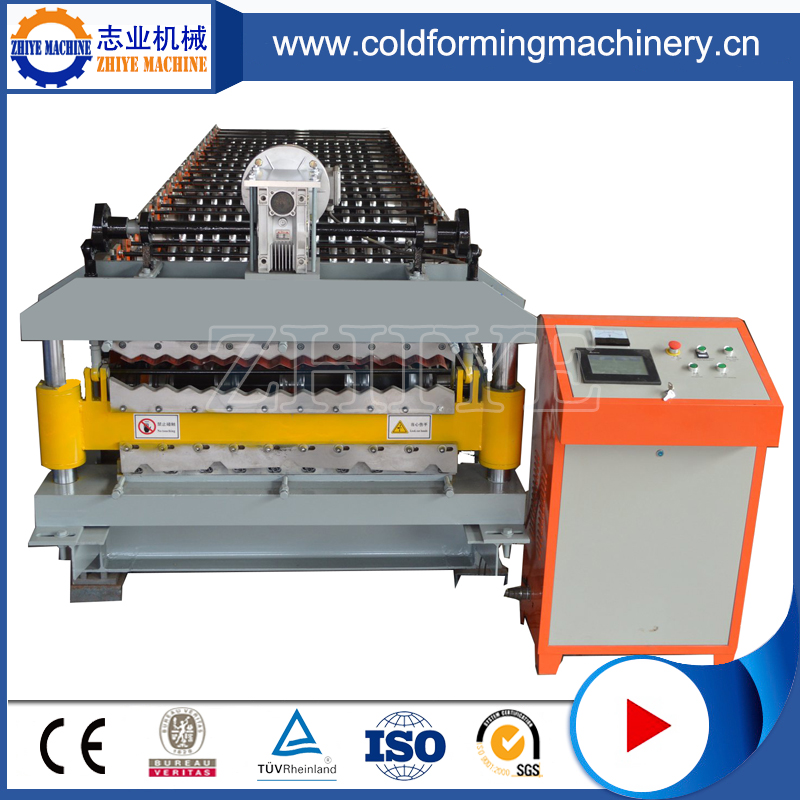 After Sale Service Double Sheet Metal Roofing Cold Rolling Emboss Machine