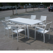 Garden patio outdoor WPC furniture