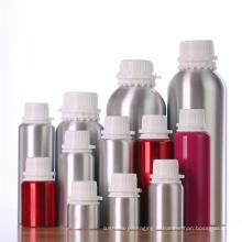 Bouteilles cosmétiques en aluminium avec bouchon inviolable (NAL10)