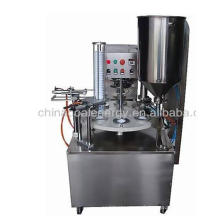 KIS-900 semi-automatic rotary Cup Filling Sealing Machine