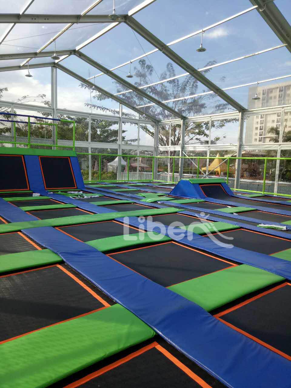 outdoor trampoline park manfacturer