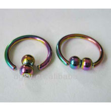 316l surgical stainless steel nose ring, nose ring body jewelry