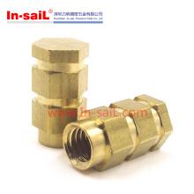 China Fastener Supplier Brass Insert Usado no fabricante automotivo