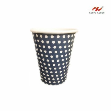 Promotional High Temperature Paper Cup With Lid