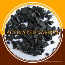 Carvão ativado em base de coco com baixo teor de carbono ativado