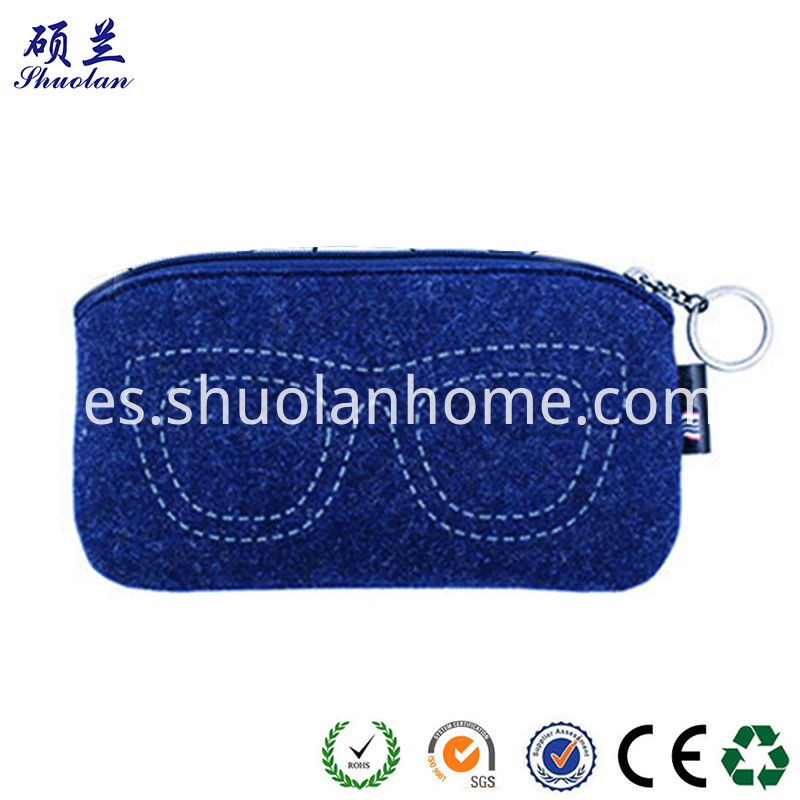 Good Quality Felt Glasses Bag