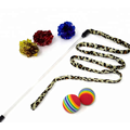 20Pcs Cats Feather Toys