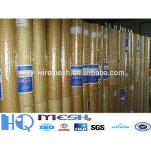 Malla de alambre cuadrada del hierro, (alibaba china) / alambre de alambre soldado del hierro