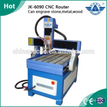 Cheap advertising cnc router engraving machine for wood, stone,glass, metal