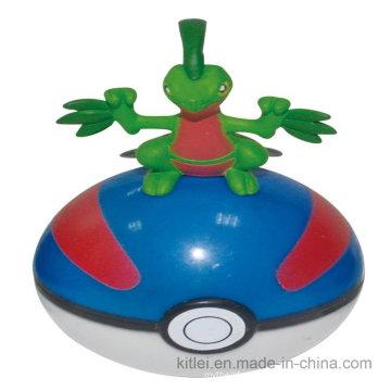 Горячий-Продажа мультфильм Арт-работы силиконовые мода круглый шарик PVC Пластиковые игрушки животных