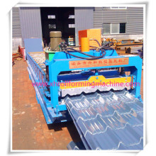 Glazed Wall Panel Forming Machine/Hydraulic Station Structure Is Four Pole Structure